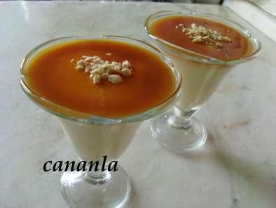 Elmalı Karamelli Muhallebi